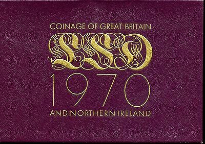 Coinage of Great Britain and Northern Ireland 1970 Proof Set