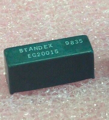 3 pcs Standex 5V 500 ohm SPST Normally Open SIP reed relays