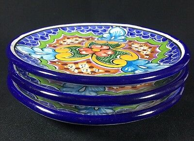 Vintage Talavera Casa Juquila Pottery Mexican Handpainted 1 Wall Decor Plate
