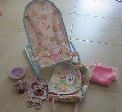 Chou Chou Baby Doll Bouncer Fits Baby Born | Doll Collectables / Accessories Zaf