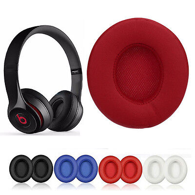 NEW Replace Ear Pads Cushions Leather for Beats By Dre Solo3 Solo 3.0 Headphones