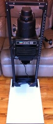 BESELER 23C III-XL CHASSIS Darkroom Enlarger
