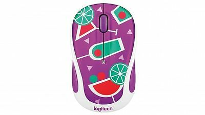 Logitech M238 Wireless Mouse - Cocktail Brand New Fun Party Range
