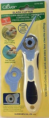 Clover Slash or Chenille Cutter - for straight and curved designs