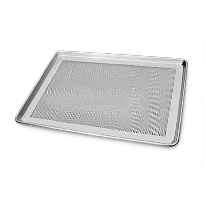 Perforated Aluminum Half Size Sheet Pan Commercial Grade 13 x 18 Inch Baking