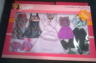Mattel 68073 Barbie 6 Fashion Gift Pack Outfits For Every Occasion! 6 Complete