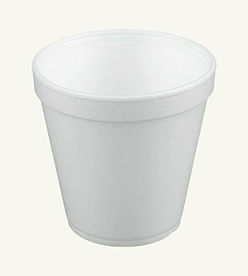 Dart 16MJ20, 16 Oz. White Foam Food Container with Vented Lid, CASE OF 100