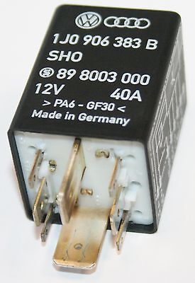 Number 409 Fuel Pump Relay 8 PIN VW Golf MK4 Bora Sharan NO 409 1J0 906 383 B