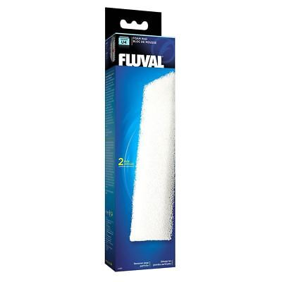 Fluval U4 Aquarium Stage 1 Filter Foam Pads (2 Pack) *GENUINE*