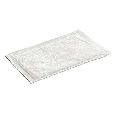 SafePro UZ50, 4x7-Inch White Ultra Dri-Lock 50 Grams Meat Pads, CASE OF 100