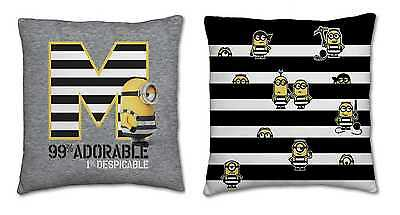 New Despicable Me 3 Minions Cushion Pillow Kids Boys Girls Bedroom Bedding Gift