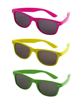Brille Classic Neon Beachparty Fasching