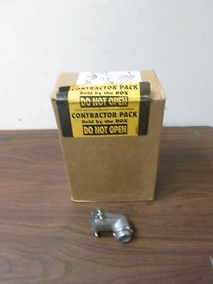 """(Qty 25) Thomas & Betts 90° 1/2"""" Clamp Type Armored Conduit Cable Connectors"""