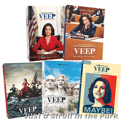 Veep: Complete Julia Louis-Dreyfus TV Series Seasons 1 2 3 4 5 Box/DVD Set(s)