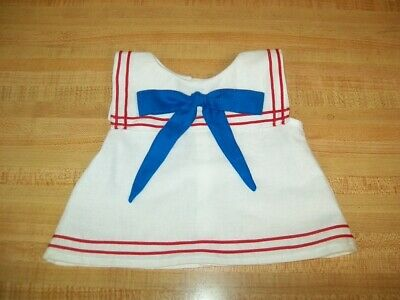"SAILOR OUTFIT SHIRT PANTS TIE HAT-RED WHITE/&BLUE for 16/"" CPK Cabbage Patch Kids"