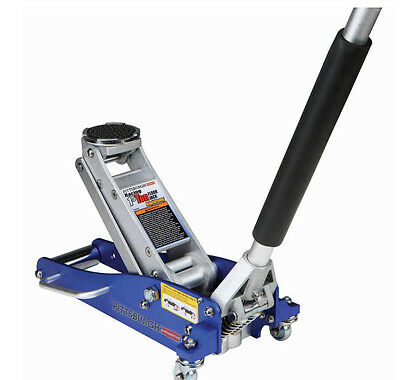 New 1.5 Ton Compact Aluminum Racing Floor Jack w Rapid Pump Car Low Lift