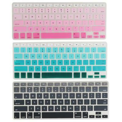 """Silicone Keyboard Skin Cover Film Protector for Macbook Air 13"""" 15"""" 17"""""""