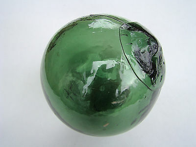 Huge seal star authentic glass fishing float