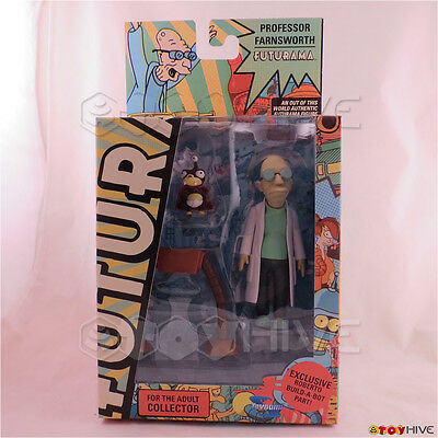 Futurama Professor Hubert J Farnsworth action figure Roberto build-a-bot part
