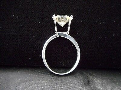 One Size TENSION RING Great for Trying On Solitaire Loose Moissanite & Gemstones
