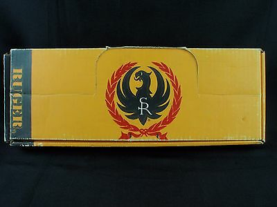 Ruger Universal Factory Cardboard Revolver Box with Lid Flap Cut