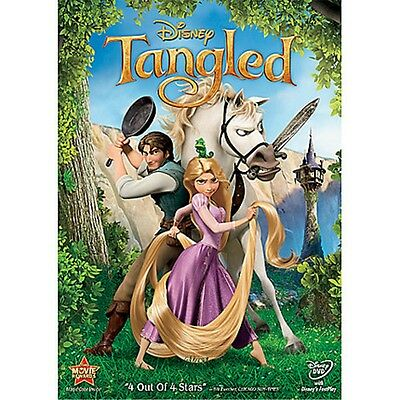 Tangled (DVD, 2011) Genuine Disney DVD - Brand New Sealed - Ships Fast