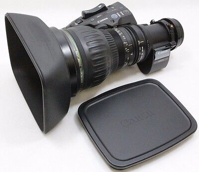 """Canon HJ22ex7.6B-IRSE-A eHDxs 22x 2/3"""" ENG Lens Great Working Condition Must See"""