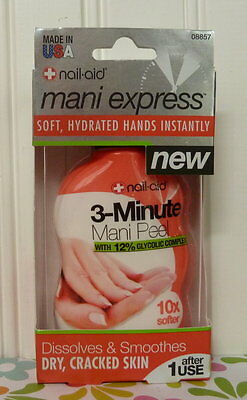 Nail-Aid - Mani Express - 3-Minute Mani Hand Peel (12% Glycolic Complex) # 08857