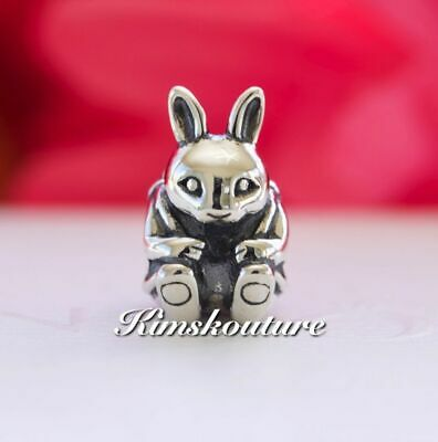 Authentic PANDORA Easter Bunny Sterling Silver Charm 791121