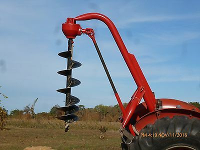 Cat. #1- Ford Heavy Duty #905- 3 Point Hitch Post Hole Digger With 12 In. Auger