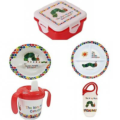 The Very Hungry Caterpillar Children's 6 Piece Feeding Set Eric Carle