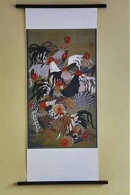 Japanese Painted Scrolls