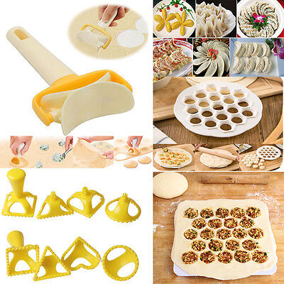 Dumpling Mold Maker Gadgets Dough Press Ravioli Cooking Pastry Kitchen Tools