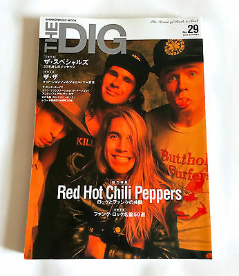 RED HOT CHILI PEPPERS SPECIAL THE DIG Japan Magazine 2002 No.29 Specials The The