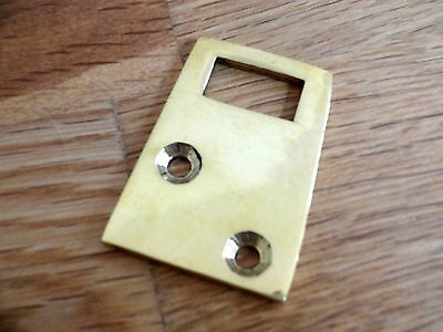 Brass Door Keep For Vacant Engaged Toilet Bathroom Lock Bolt Indicator