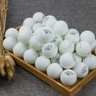 100Pcs 3-Stars 40mm Olympic Table Tennis Balls Ping pong Balls White