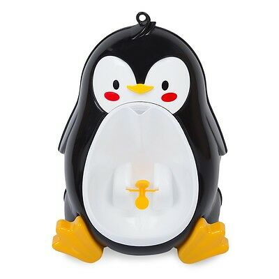 NEW Lovely Penguin Children Potty Toilet Training Urinal Boys Pee Wee Trainer