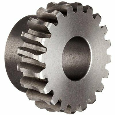"Boston Gear D1600 Worm Gear, Plain, 14.5 PA Pressure Angle, 0.500"" Bore, 51 20"