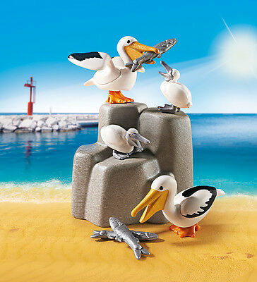 PLAYMOBIL® 9070 Pelican family - NEW 2017 - S&H FREE WORLDWIDE