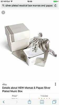 silver plated musical box