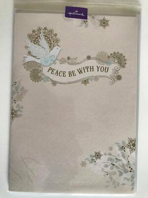 Details about  /Hallmark Signature Gold Collection Christmas Notecards Peace Dove NOS NIB 8 Card