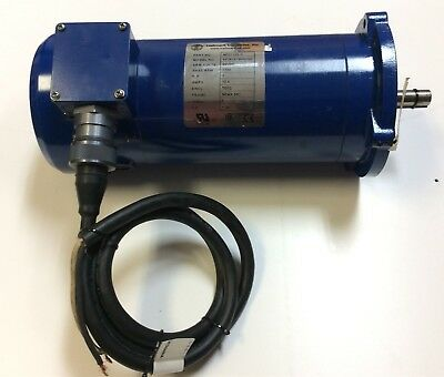 "Hallmark Industries MDO112X-C 90 VDC DC Motor .625"" Shaft 1750 RPM 1 HP Rating"