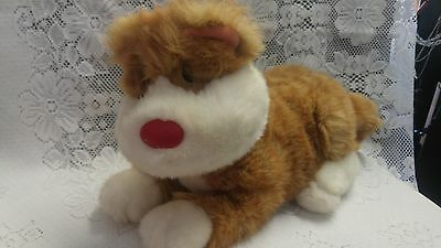 Rare My Big Comfy Couch Plushy Snicklefritz Orange Cat Ex Condition