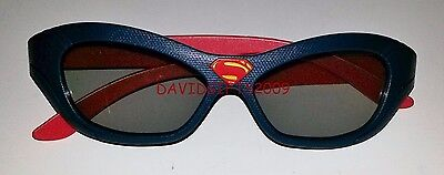 Batman Vs Superman Dawn of justice 2016: Real 3D Glasses SUPERMAN L Edition USA