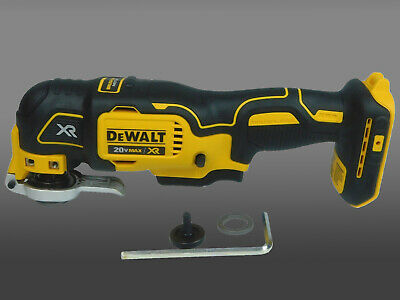 New DEWALT DCS355 20V 20Volt Cordless Brushless Oscillating Multi Tool Bare Tool