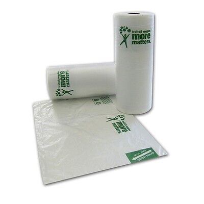 SafePro 12x20-Inch Produce Bags, 920-Piece Roll
