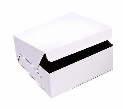 SafePro 12x12x6-Inch Cake Boxes, 50-Piece Case