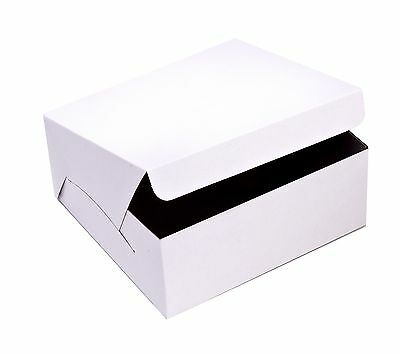 SafePro 8x8x5-Inch Cake Boxes, 100-Piece Case