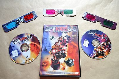 Spy Kids 3 Game Over Ed. Especial   Dvd+3D+Gafas  Pelicula Completa  Film Dvd