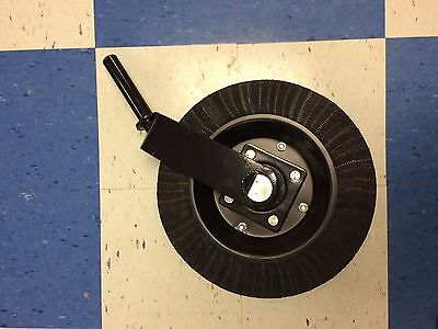 "Howse  Bush Hog Tail Wheel Assembly Rotary Cutter 1-1/4""shaft Heavy Duty Fork"